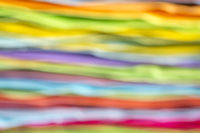 stack of colorful sticky notes abstract