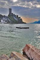 Malcesine at Lake Garda,Italy
