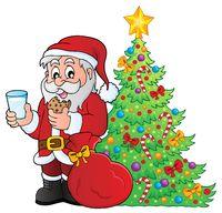 Santa Claus breakfast theme 4
