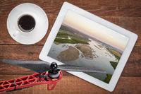 aerial photography concept - Noibrara River