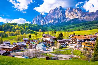 Alps landscape in Cortina D' Ampezzo