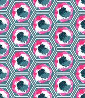 Seamless Geometric Colorful Pattern
