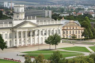 Kassel, Blick auf Friedrichsplatz mit Musuem Fridericianum