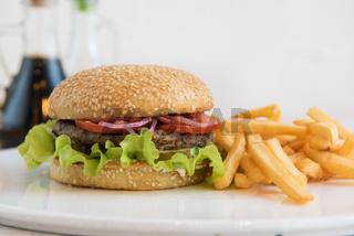 Big tasty burger