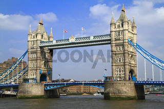 Tower Bridge over the River Thames in London