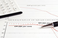 Financial accounting graphs and charts