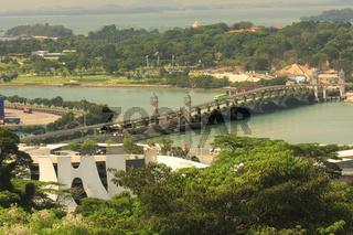 Brücke nach Sentosa Island