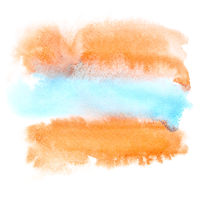 Red-blue watercolor abstract background