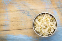 bowl of sauerkraut