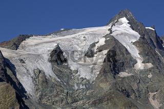 Gipfel des Großglockne, Nationalpark Hohe Tauern, Kärnten, Österreich, Europa