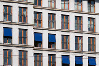apartmen building facade - modern resdidential building