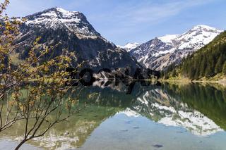 Vilsalpsee, Tannheimer Tal, Oesterreich, Tirol