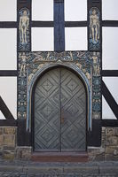 Goslar - Decorative old town portal, Germany