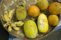 THAILAND CHIANG RAI MARKET FRUITS