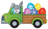 Truck with Easter eggs theme image 1