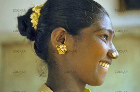 indische nasenpiercing