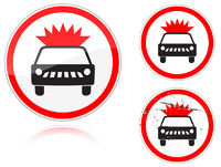 Transportation of explosives and flammable substances is forbidden
