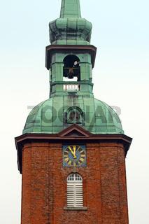 Kirche in Kappeln. Deutschland