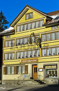 Gasthaus Zum Engel, Urnäsch, Kanton Appenzell Ausserrhoden, Schweiz