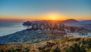 Sonnenaufgang im westlichen Sizilien