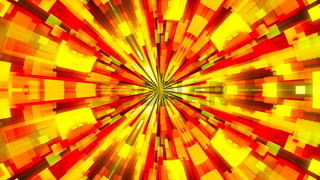 Abstract background with technology kaleidoscope