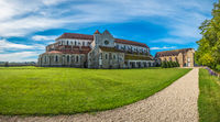 Pontigny Abbey in Burgundy, France