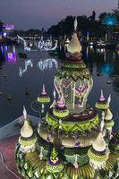THAILAND BURIRAM LOY KRATHONG FESTIVAL