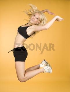 Frau und Sport