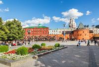 Revolution square, near the Kremlin. Moscow