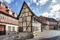 Old street in Quedlinburg