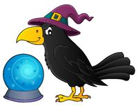 Witch crow theme image 1 - picture illustration.