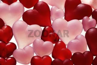 Verliebte Herzen