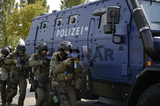 Internationale Terror-Übung in Wien