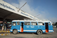 THAILAND PHAYAO BUS TRANSPORT
