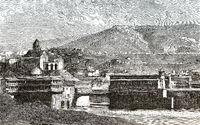 Tbilisi or Tiflis, the capital of Georgia