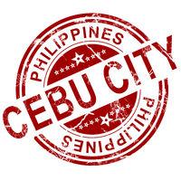 Red Cebu stamp