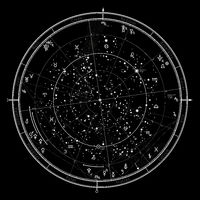 Astrological Chart on January 1, 2017