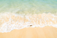 Sea wave on beach