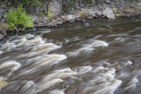 rapid on the Cache la Poudre River