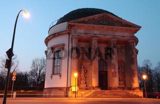 Französische Kirche Potsdam Abends