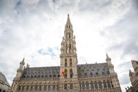 The Town Hall of Brussels in the Grand Place