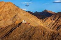 Tsemo (Victory) Fort, Namgyal Tsemo Gompa. Leh, Ladakh, Jammu an
