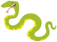 cartoon snake animal character