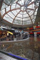 Atrium  im Europacenter, Berlin, Deutschland