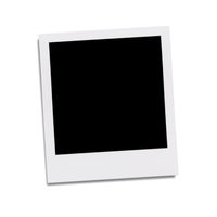 typical polaroid picture frame for your content