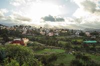 Architektur von Gran Canaria in der Natur