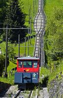 Funicular Les Avants-Sonloup, Les Avants, Vaud, Switzerland