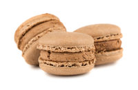 Three french macaroon
