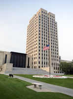 North Dakota State Capital Building Bismarck ND USA