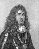 Edward Montagu, 1st Earl of Sandwich, 1625-1672, an English Infantry officer, naval officer and politician